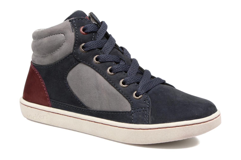 Sneakers Kickers Lynx Blå detaljeret billede af skoene