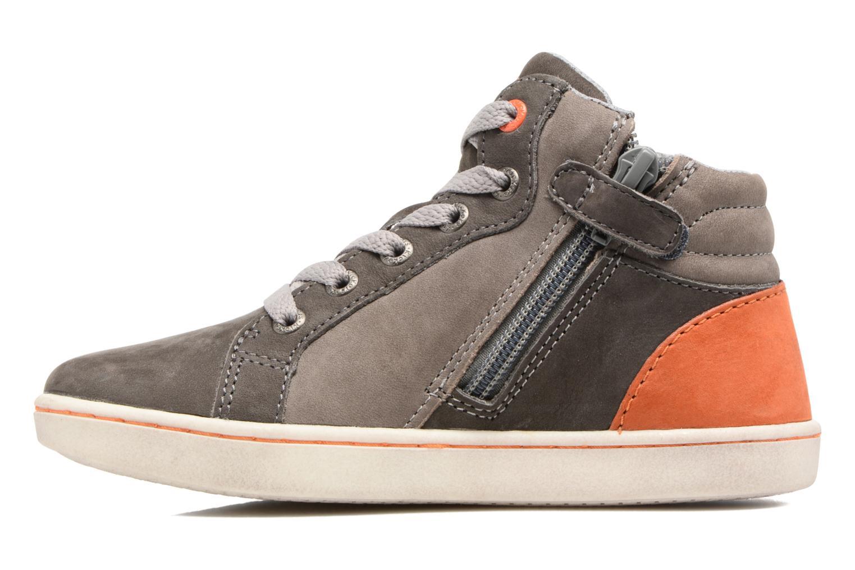 Sneakers Kickers Lynx Grå se forfra
