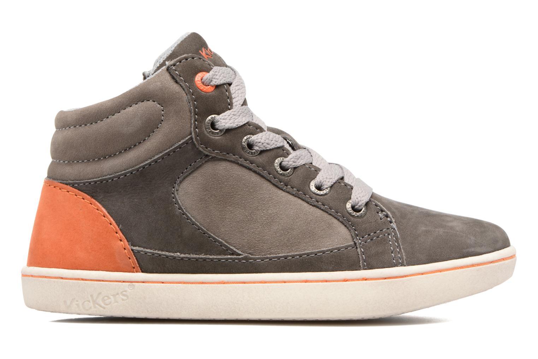 Sneakers Kickers Lynx Grå se bagfra