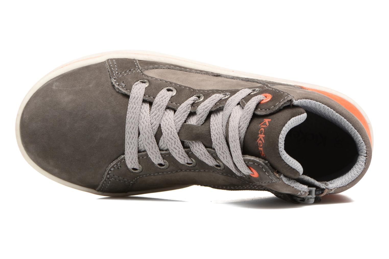 Sneakers Kickers Lynx Grå se fra venstre