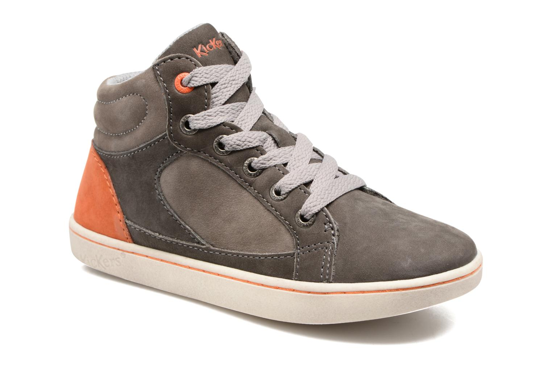 Sneakers Kickers Lynx Grå detaljeret billede af skoene