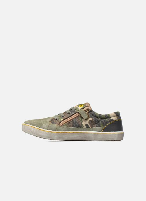 Sneakers Kickers Lylian Groen voorkant