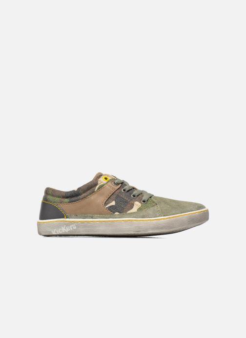 Sneakers Kickers Lylian Groen achterkant