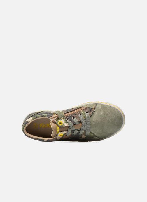 Sneakers Kickers Lylian Groen links