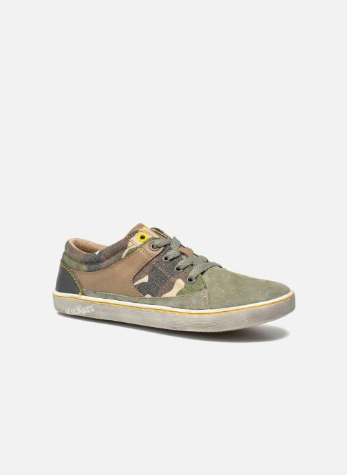 Sneakers Kickers Lylian Groen detail