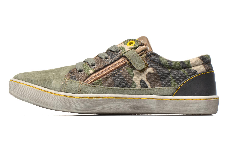 Sneakers Kickers Lylian Grön bild från framsidan