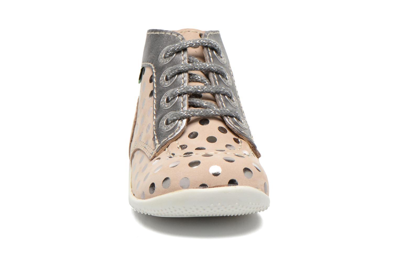 Bottines et boots Kickers Bonbig Beige vue portées chaussures