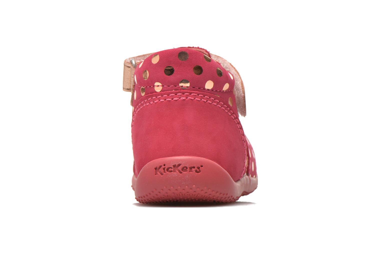 Sandales et nu-pieds Kickers Biggy Rose vue droite