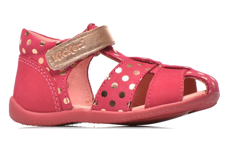 Sandales et nu-pieds Kickers Biggy Rose vue derrière