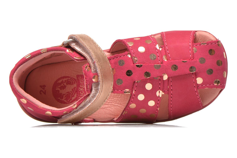 Sandales et nu-pieds Kickers Biggy Rose vue gauche