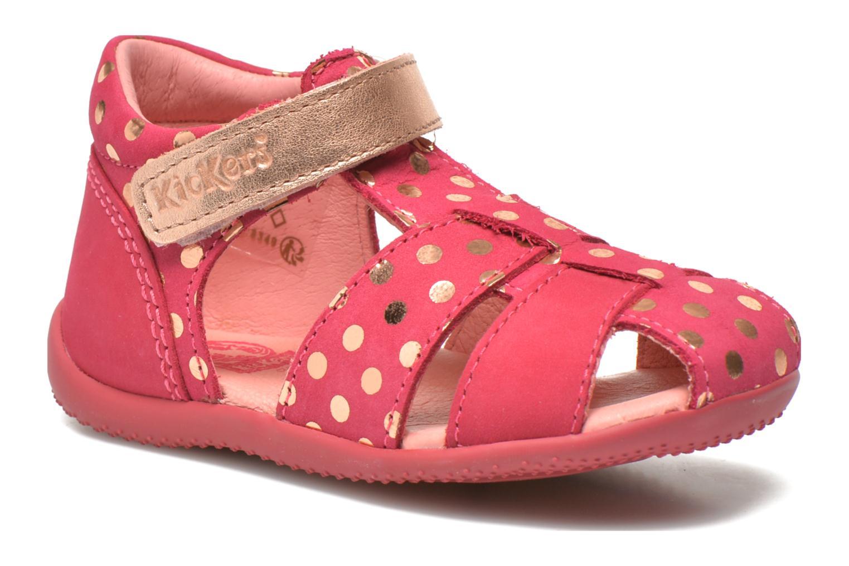 Sandales et nu-pieds Kickers Biggy Rose vue détail/paire