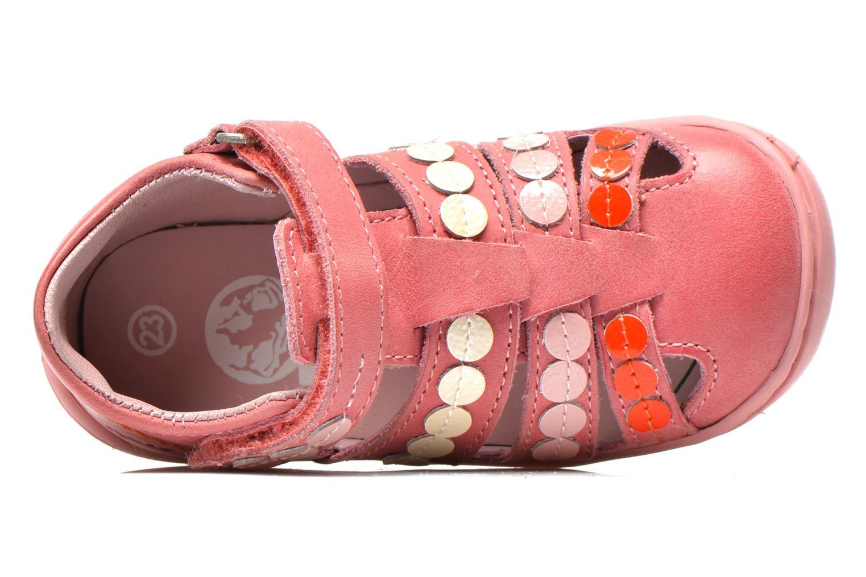 Sandalen Kickers Gift Kids rosa ansicht von links