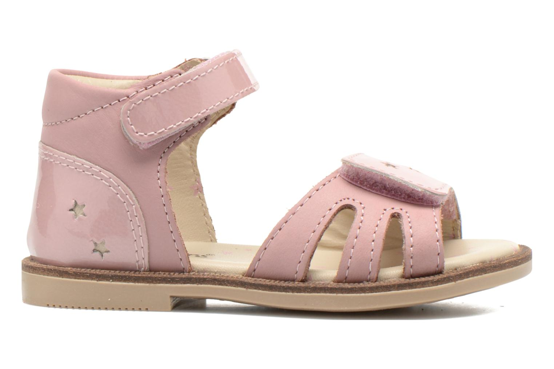 Sandalen Kickers Moonstar Roze achterkant