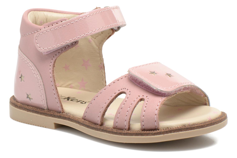 Sandales et nu-pieds Kickers Moonstar Rose vue détail/paire