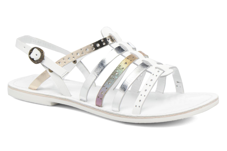 Sandalen Kickers Dixmillion Perf weiß detaillierte ansicht/modell