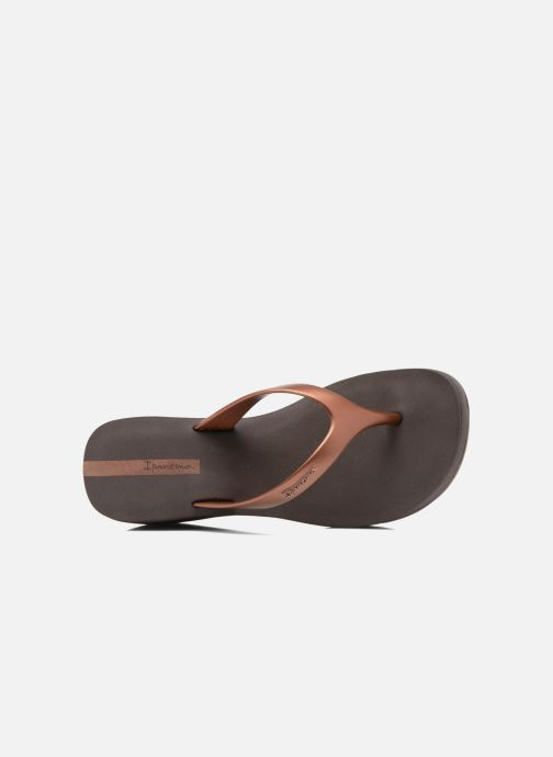 Slippers Ipanema Lipstick Thong Goud en brons links