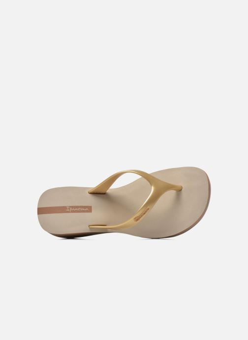 Flip flops Ipanema Lipstick Thong Beige view from the left