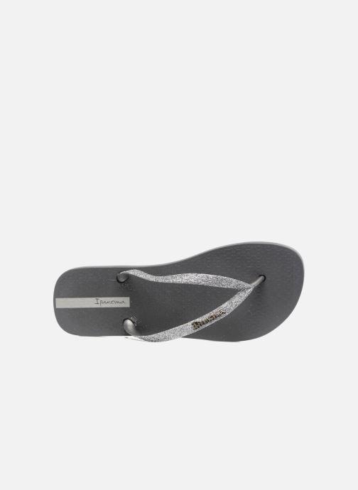 Flip flops Ipanema Lolita III Grey view from the left