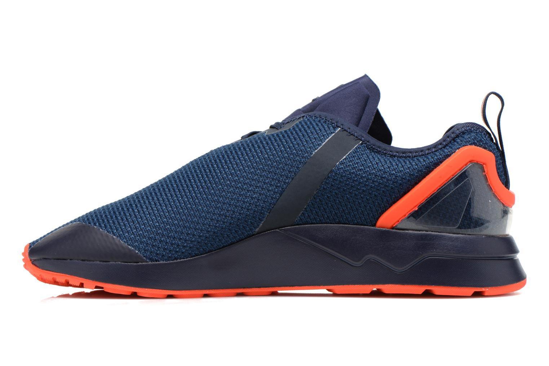 Sneakers Adidas Originals Zx Flux Adv Asym Blauw voorkant