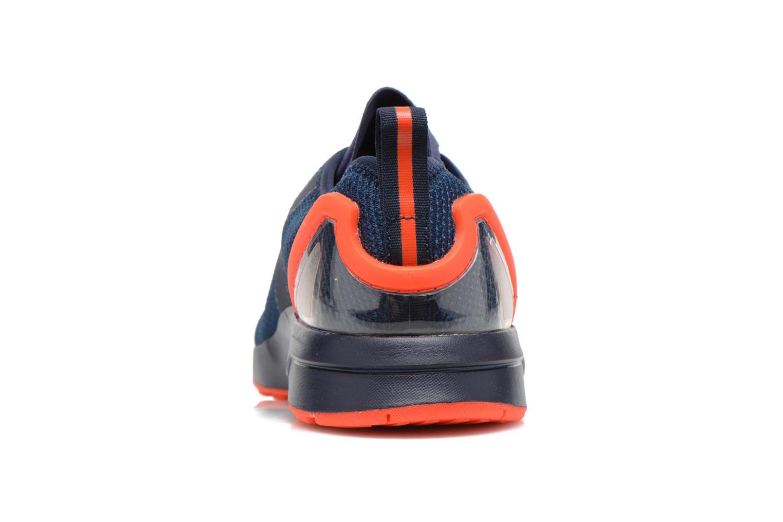 Sneakers Adidas Originals Zx Flux Adv Asym Blauw rechts