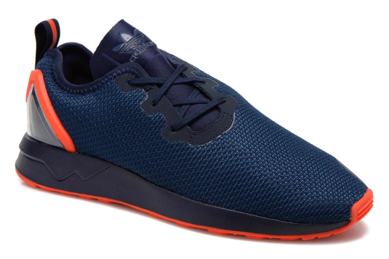 Sneakers Adidas Originals Zx Flux Adv Asym Blauw detail