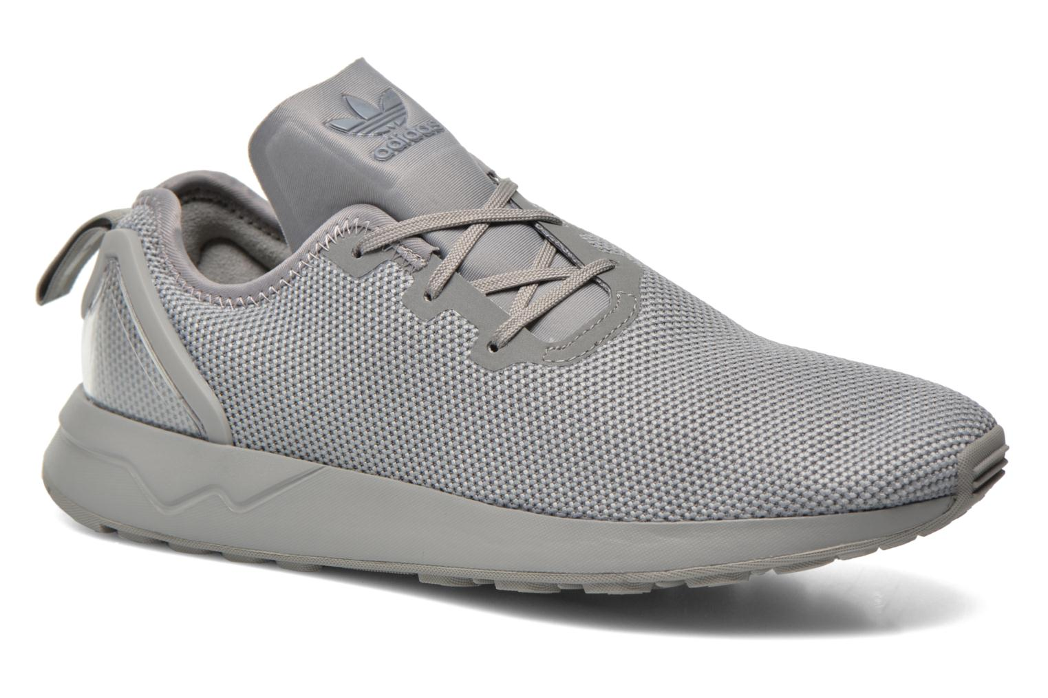 Trainers Adidas Originals Zx Flux Adv Asym Grey detailed view/ Pair view