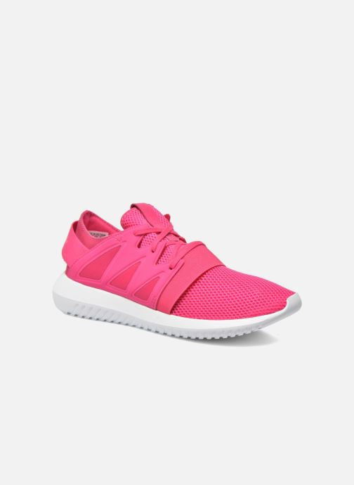 Baskets adidas originals Tubular Viral W Rose vue détail/paire