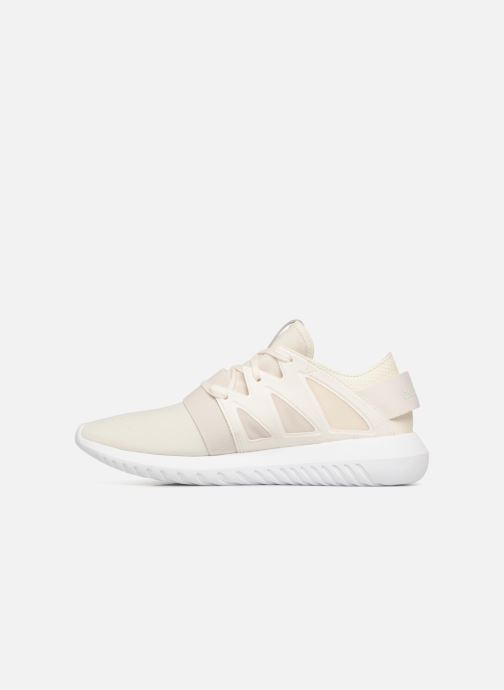 Baskets adidas originals Tubular Viral W Beige vue face