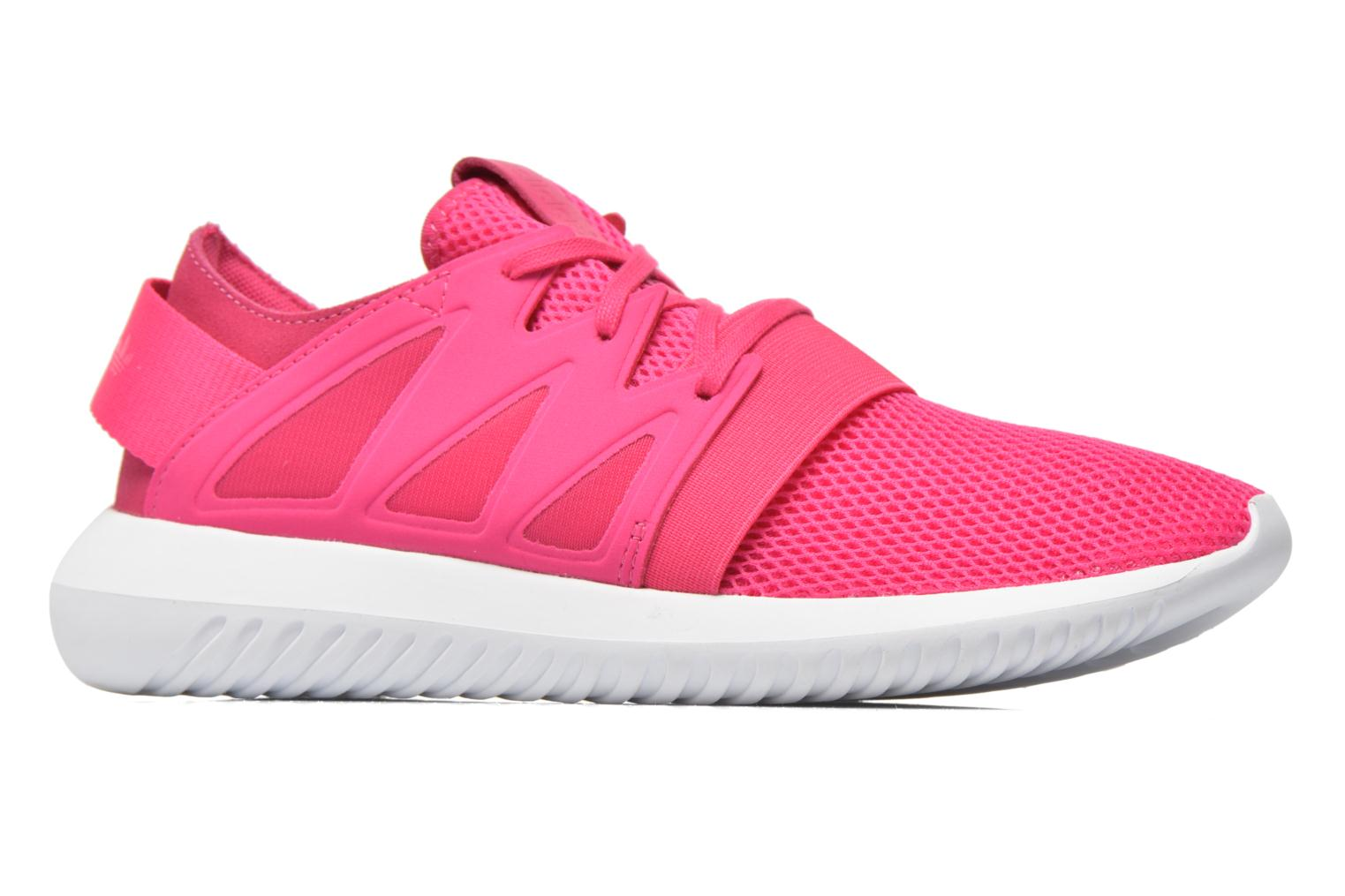 Trainers Adidas Originals Tubular Viral W Pink back view