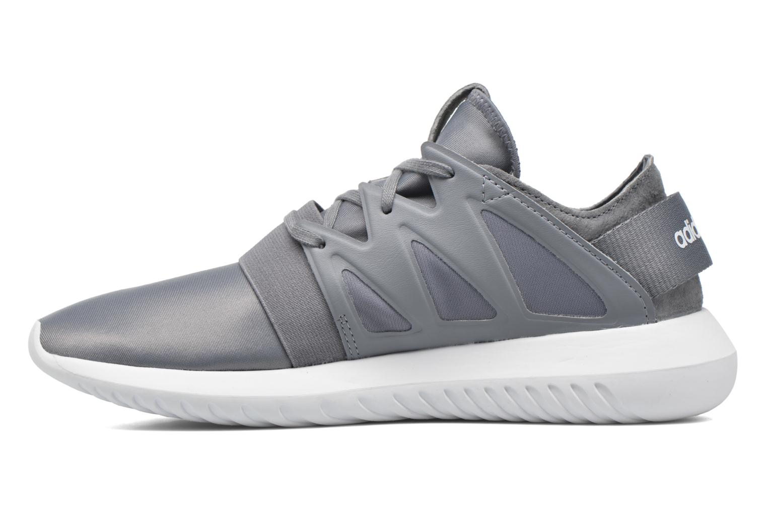 Baskets Adidas Originals Tubular Viral W Gris vue face