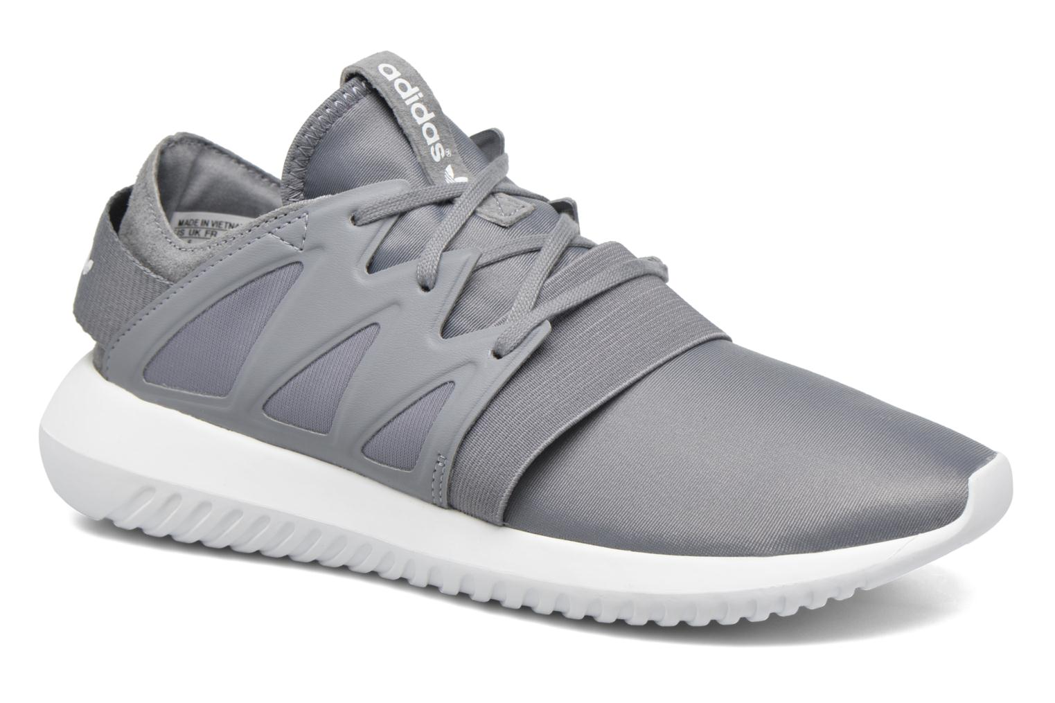 Baskets Adidas Originals Tubular Viral W Gris vue détail/paire