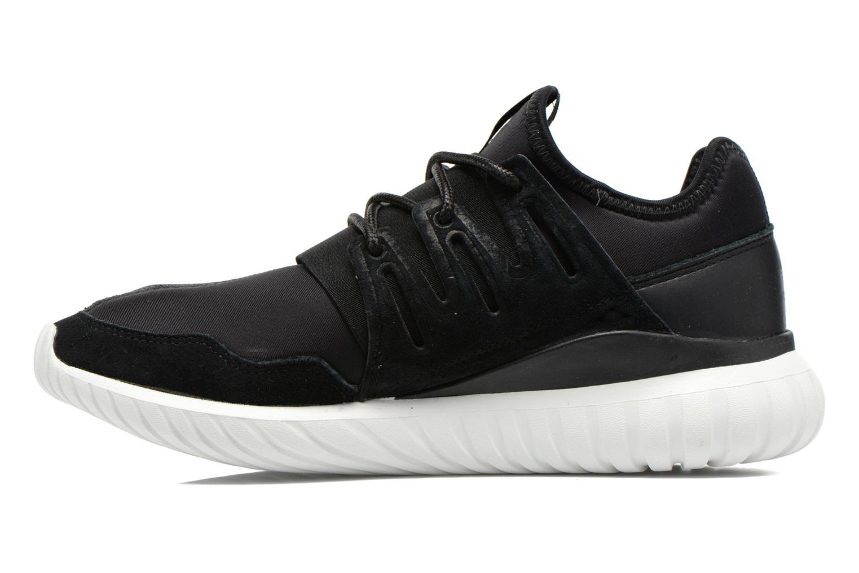 Deportivas Adidas Originals Tubular Radial Negro vista de frente