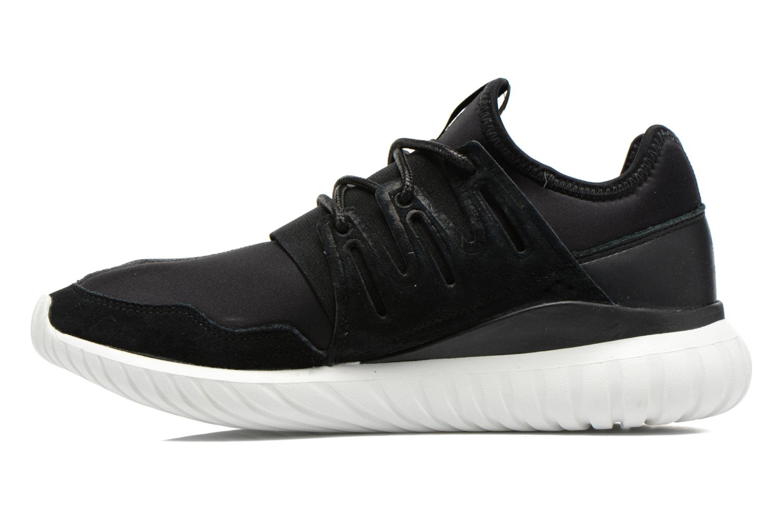 Trainers Adidas Originals Tubular Radial Black front view