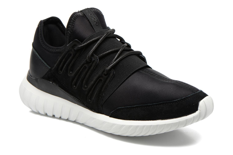 Trainers Adidas Originals Tubular Radial Black detailed view/ Pair view