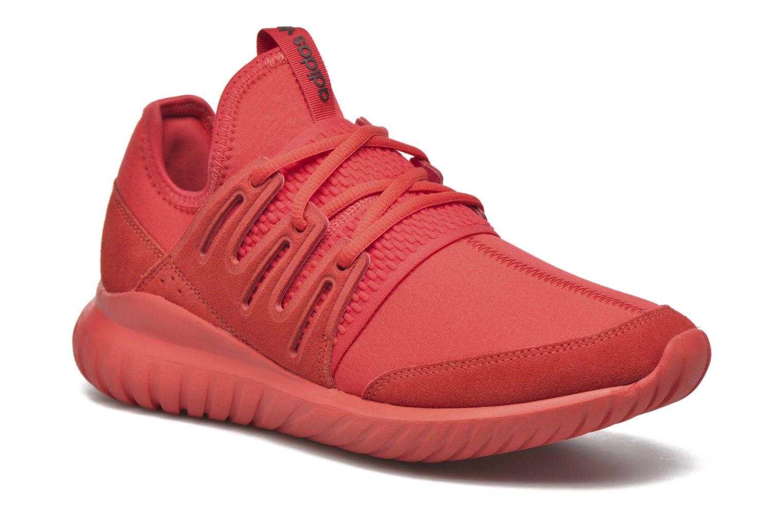 adidas baskets femme tubular radial rouge