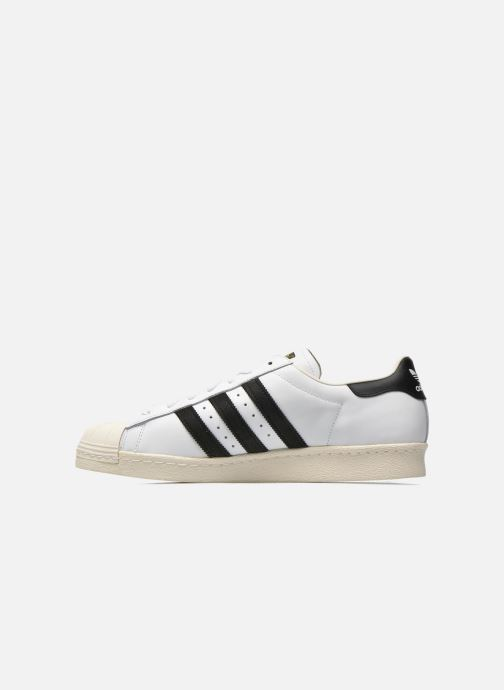 Sneakers Adidas Originals Superstar 80S Bianco immagine frontale