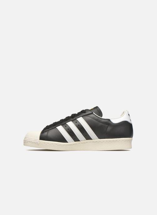 Sneakers adidas originals Superstar 80S Nero immagine frontale