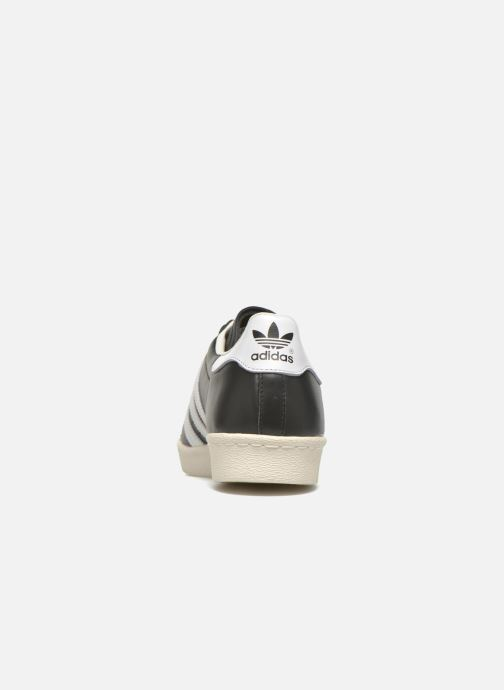 Sneakers adidas originals Superstar 80S Nero immagine destra