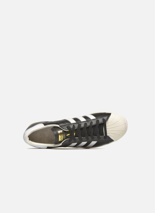 Sneakers Adidas Originals Superstar 80S Nero immagine sinistra