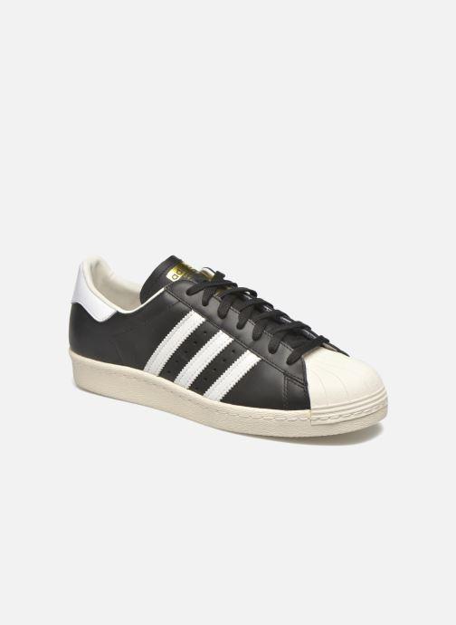 Trainers adidas originals Superstar 80S Black detailed view/ Pair view