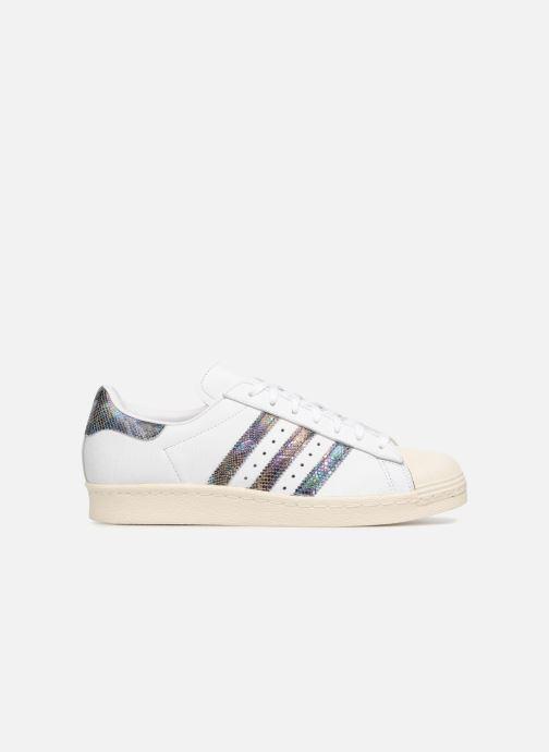 Sneaker adidas originals Superstar 80S weiß ansicht von hinten