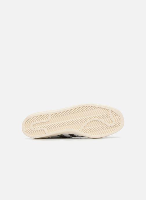 Sneaker adidas originals Superstar 80S weiß ansicht von oben