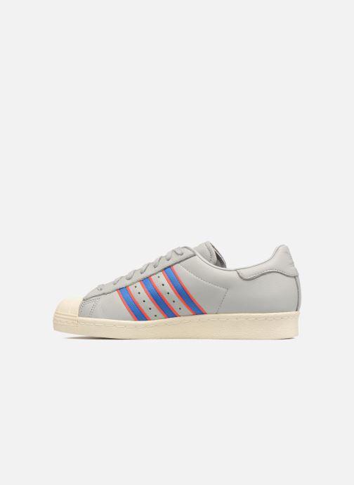 Trainers Adidas Originals Superstar 80S Grey front view
