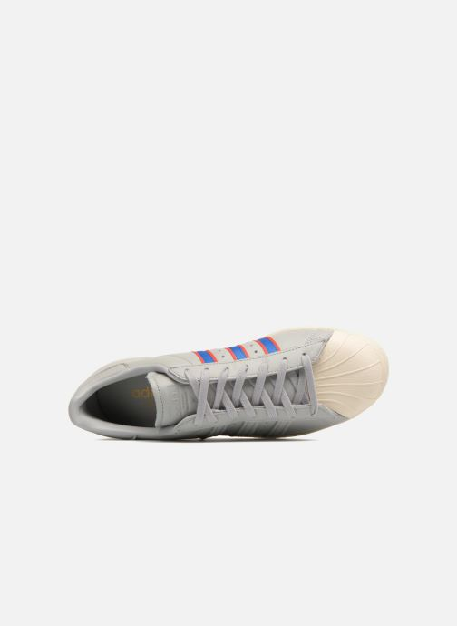 Trainers Adidas Originals Superstar 80S Grey view from the left