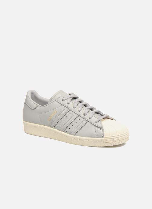 Trainers adidas originals Superstar 80S Grey detailed view/ Pair view