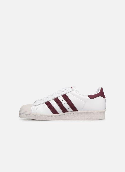Sneaker adidas originals Superstar 80S weiß ansicht von vorne