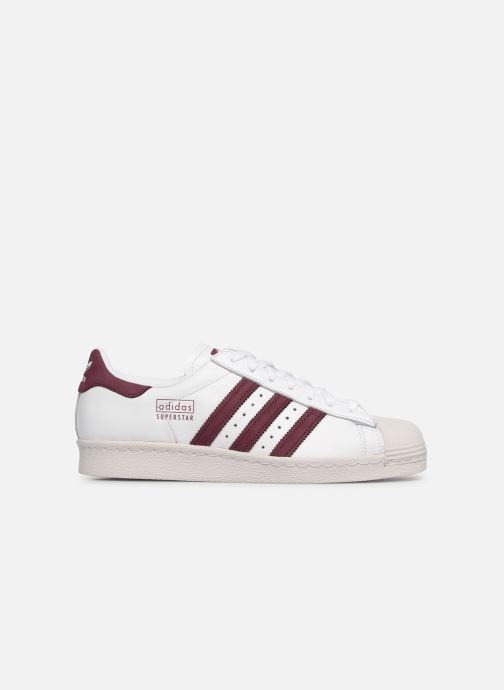 Sneakers adidas originals Superstar 80S Wit achterkant