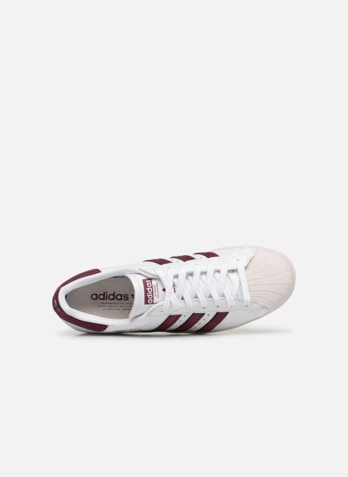 Sneaker adidas originals Superstar 80S weiß ansicht von links