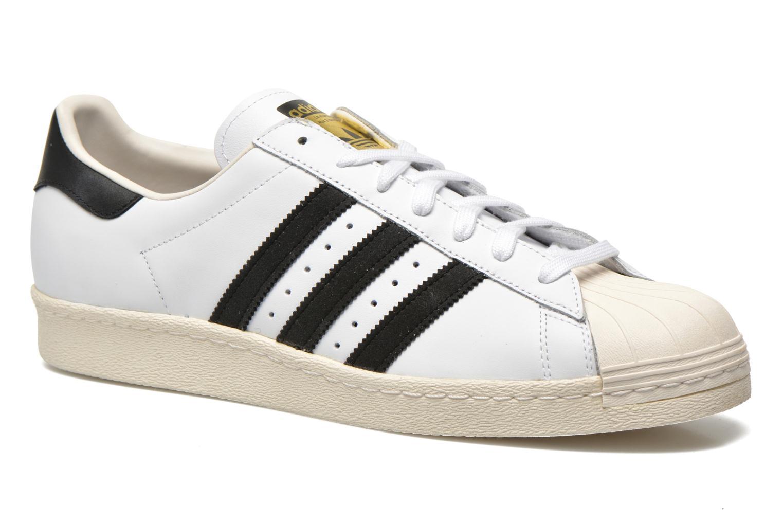 Blanc craie2 Adidas Originals Superstar 80s noir1 8nNPvwym0O
