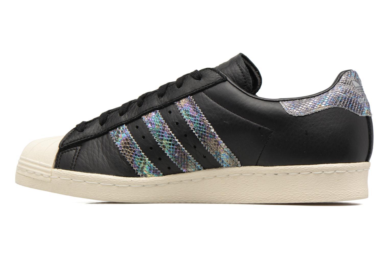 Deportivas Adidas Originals Superstar 80S Negro vista de frente
